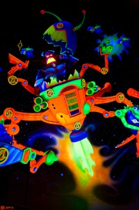 The evil Emperor Zurg in Buzz Lightyear's Space Ranger Spin