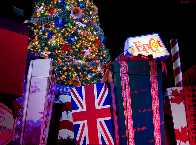 Travel and Leisure disses Disney World again - Epcot at Christmas