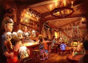 Gaston's Pub in Fantasyland