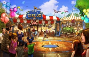 Storybook Circus in the New Fantasyland