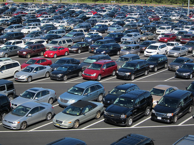 The Parking Lot at Epcot