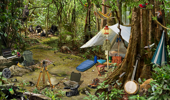 Camping in the Forest with Disney's Animal Kingdom Explorers