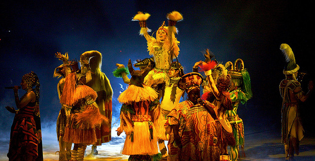 Opening of the Festival of the Lion King
