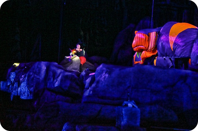 Fantasmic! - Dad has reservations for the show