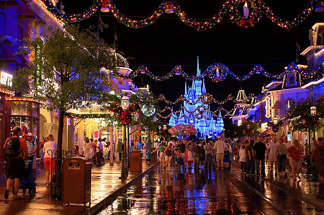 main street during mickeys very merry christmas party - Mickey Very Merry Christmas