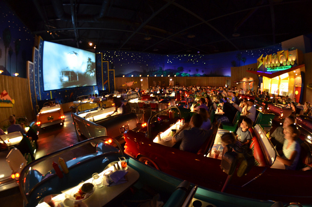 The Interior Of Sci Fi Dine In Disney Hollywood Studios