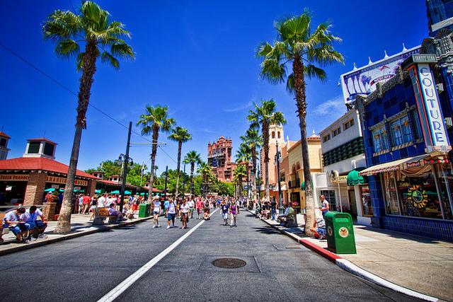 Empty Street at Disney's Hollywood Studios
