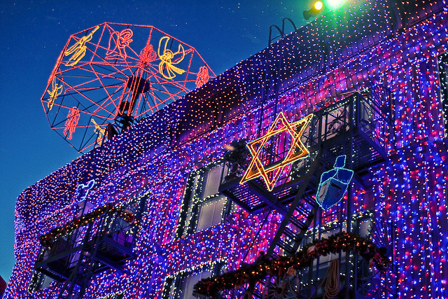 a hidden mickey in the osborne family spectacle of lights - Hollywood Studios Christmas Lights