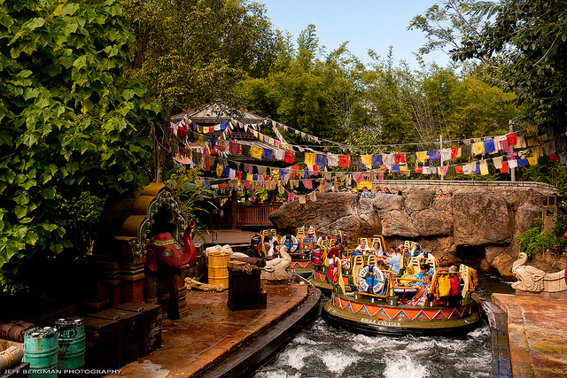The Kali River Rapids in Animal Kingdom