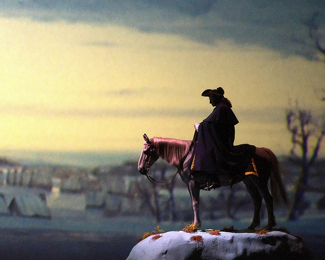 George Washington at Valley Forge in the American Adventure