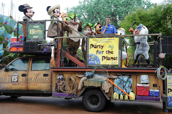 Wanna Party? - Photo from Disney Parks Blog