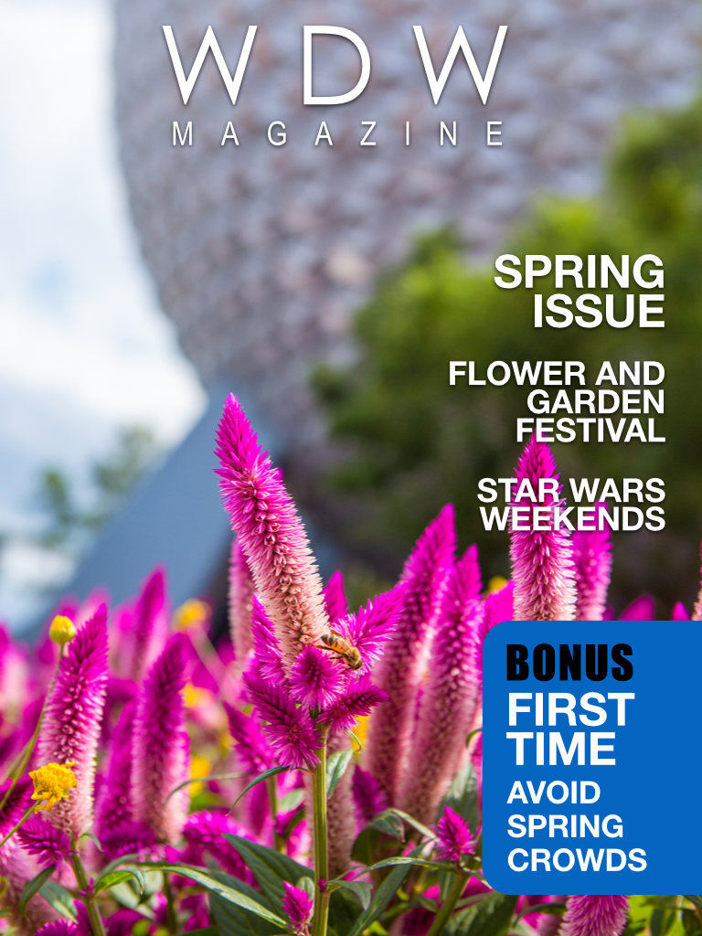 WDW Magazine's Spring issue