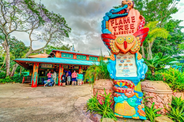 Check out Flame Tree Barbque - by WDW Shutterbug