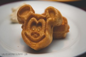 There are even special Mickey Waffles for those with allergies! Photo by Mandy Heinz.