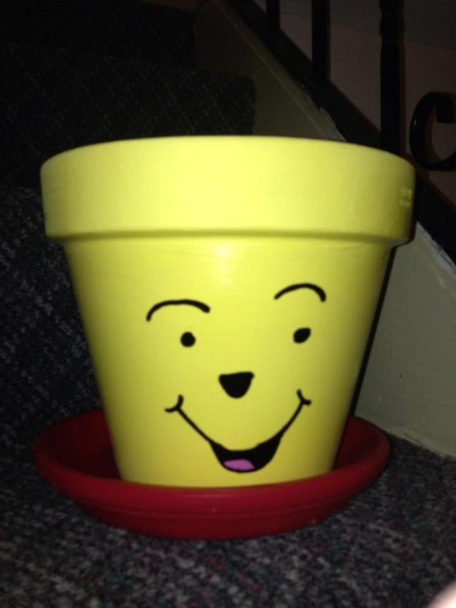 Winnie The Pooh Flower Pot Fun