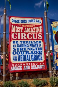 Welcome to Storybook Circus - home of the Giggle Gang!  Photo by Jamie Strickland.