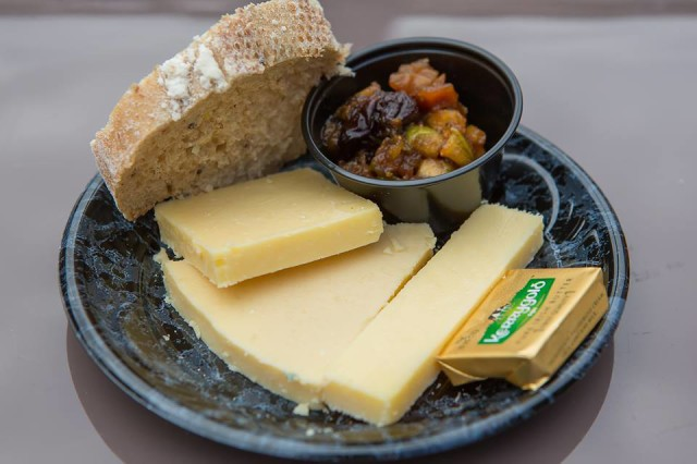 Irish Cheese Plate from the Epcot International Food and Wine Festival. Photo by Brett Svenson & Foodie Friday: Cheese Plates - Dad Guide to WDW - The Blog