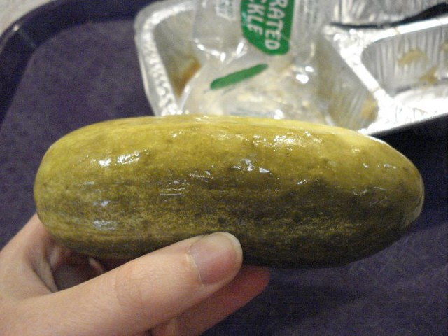 The famous giant pickle!  Photo by Stephanie Shuster.