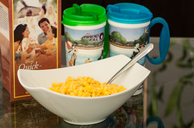 Make your own authentic Mickey Macaroni and Cheese at home!  Photo by Cliff Wang.