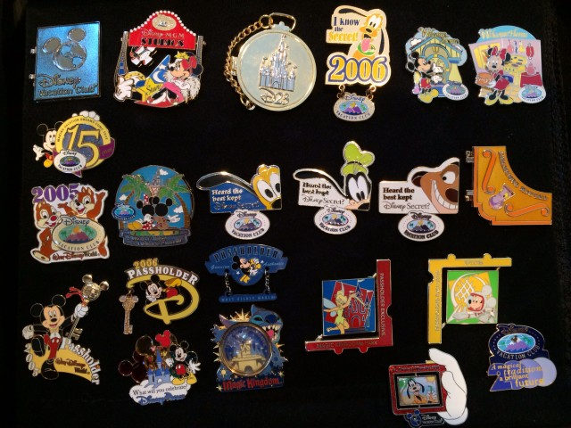DVC and Annual Passholder Exclusive Pins
