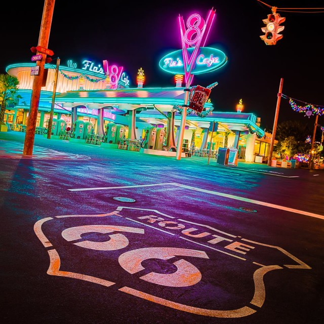 I can't wait to see Car's Land at night - Photo by WDW Shutterbug