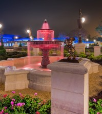 Check out the new Fountain at the Magic Kingdom with Free Dining - Photo by WDW Shutterbug