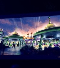 Toy Story Land is coming!  Photo by Danny McBride from the Disney Parks and Resorts presentation at D23.