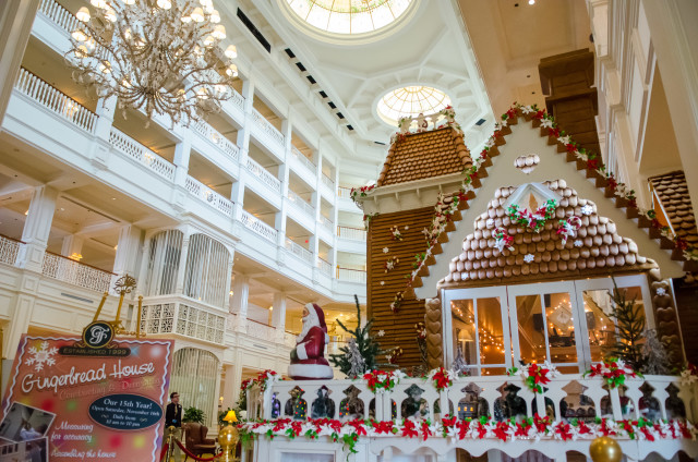 Gingerbread display at the Grand Floridian - photo by Laurie Sapp