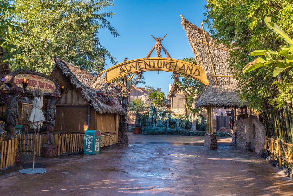 Adventureland at Disneyland is pretty neat!  Photo by WDW Shutterbug.