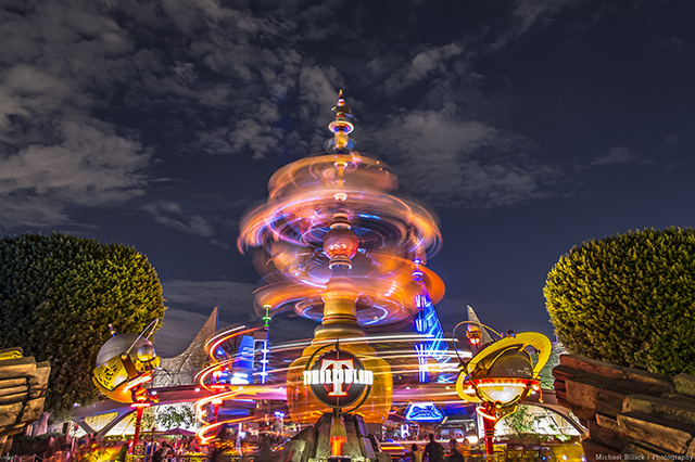 Disneyland and Tomorrowland - Photo by Mike Billick