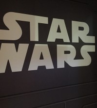 Star Wars Launch Bay wall art.  Photo by Stephanie Shuster.