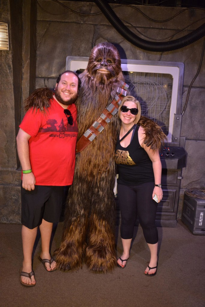 Don't forget to say hi to your old pal Chewbacca! Photo by Stephanie Shuster.