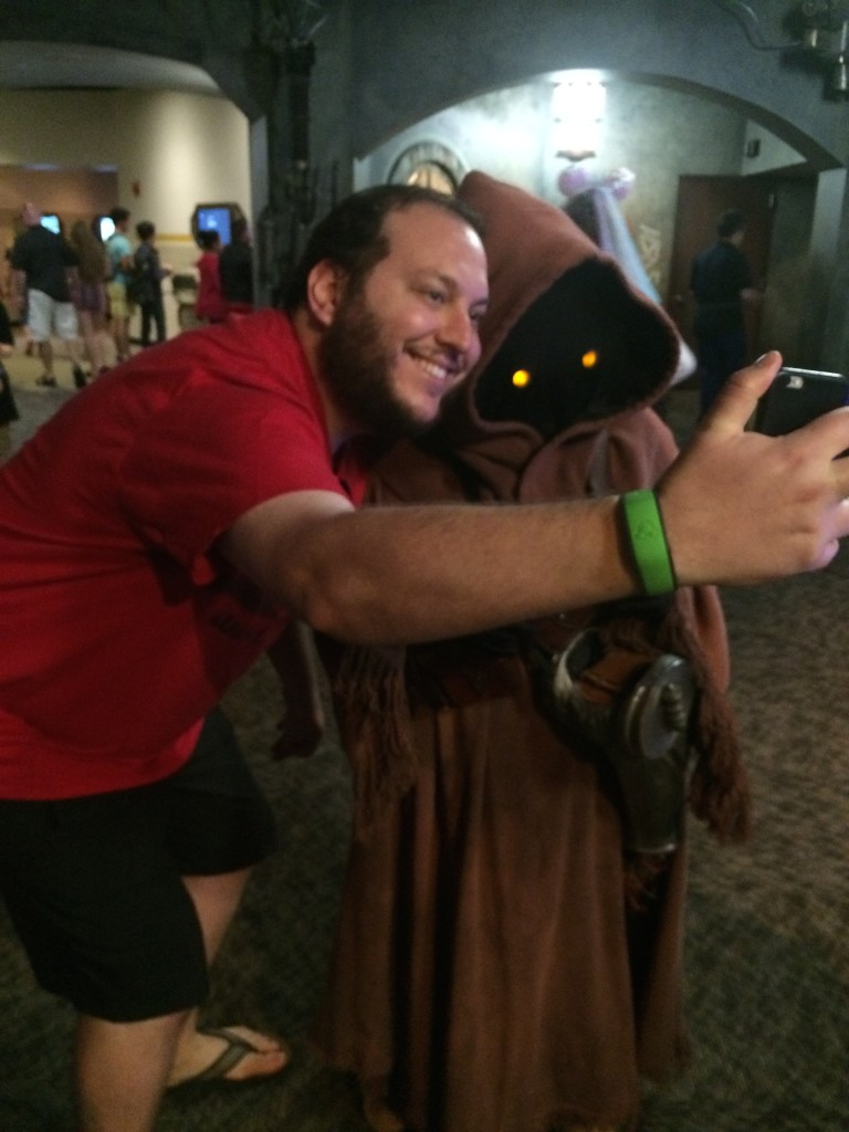 Meet a Jawa up close and personal. Photo by Stephanie Shuster.