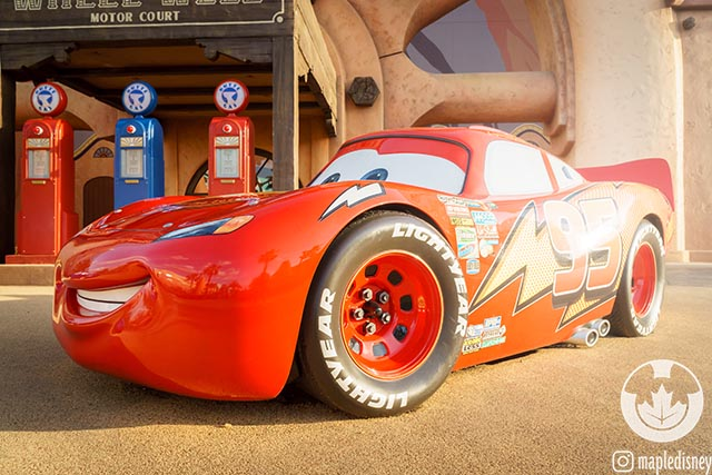 Now that the Disney Vacation Account is closing it's harder to save money to see Lightning McQueen at the Art of Animation